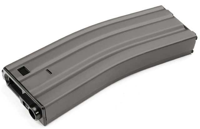 G&G Metal 450rd Hi-Cap Magazine for M4/M16 Series Airsoft AEG Rifles (Color: Grey)