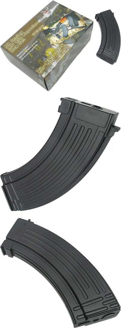 King Arms 47 Style 110rds Mid-Cap Magazine for AK Series Airsoft AEG (Package: Box of 5)