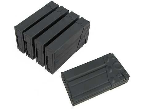 Matrix 500 Round Metal Hi-cap Magazine for G3 Series Airsoft AEG (Package: Box of 5 )