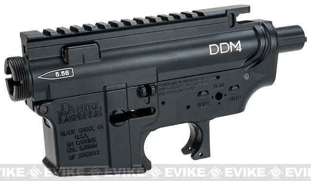 Madbull Licensed Full Metal Daniel Defense Ver. 2 Receiver for M4/M16 Airsoft AEGs - Black