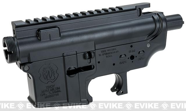 Madbull Licensed Full Metal Troy Arms Ver. 2 Receiver for M4/M16 Airsoft AEGs - Black