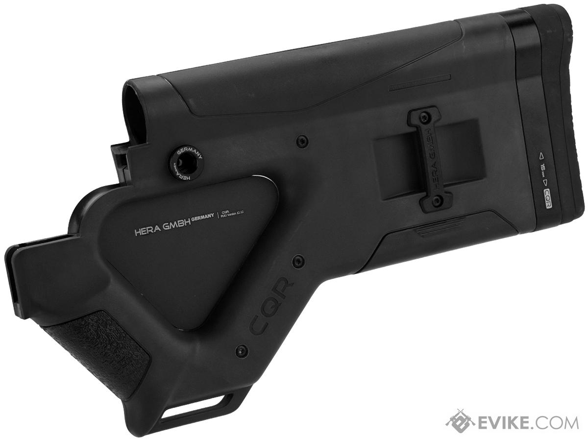 HERA Arms CQB California Buttstock for AR15 Series Rifles (Color: Black)