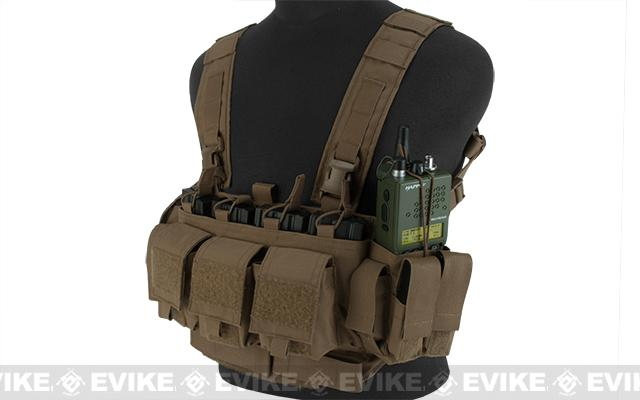 z Mayflower Research and Consulting LE/Active Shooter Chest Rig - Coyote