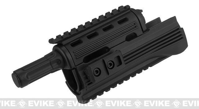 ICS AK47 Tactical Handguard with Rail - Black