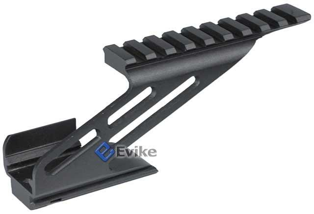 z Matrix Scope Mount Base for Hi-CAPA Series Airsoft Gas Blowback - (Black)