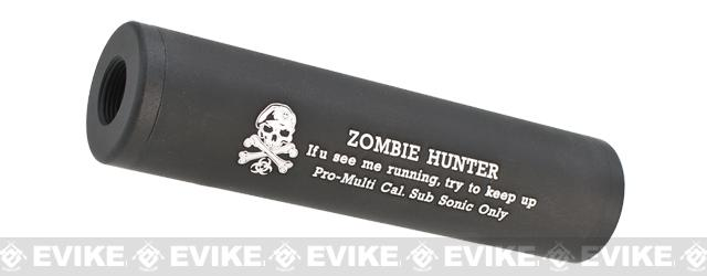 Matrix High Speed Airsoft Mock Silencer / Barrel Extension - 30 X 110mm - Zombie Hunter #1