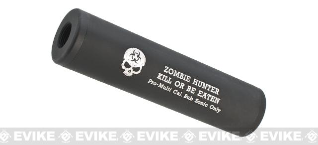 Matrix High Speed Airsoft Mock Silencer / Barrel Extension - 30 X 110mm - Zombie Hunter #2
