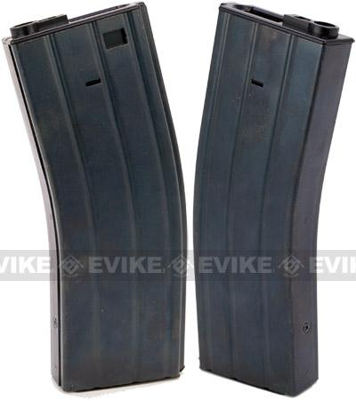 Lonex Full Metal Flash Mag 360rd Hi-Cap Magazine for M4 Series Airsoft AEG