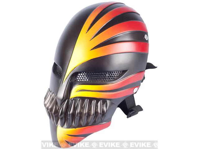 Evike.com R-Custom Fiberglass Wire Mesh Hollow Mask Inspired by Bleach - Black