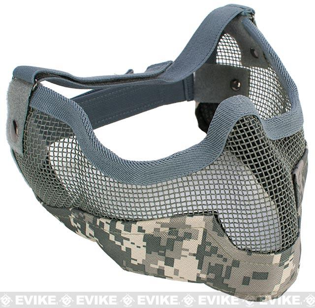 Matrix Iron Face Carbon Steel Striker Gen2 Metal Mesh Lower Half Mask - ACU