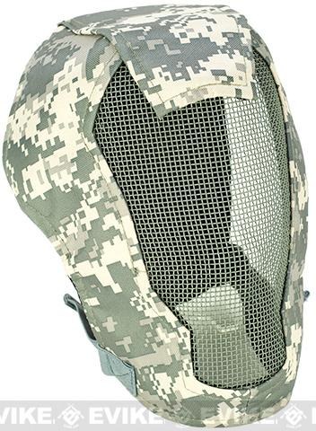 Matrix Iron Face Carbon Steel Striker Gen4 Metal Mesh Full Face Mask - ACU 9fb1f6d7a