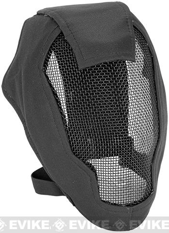 Matrix Iron Face Carbon Steel Striker Gen4 Metal Mesh Full Face Mask - Black add803d94
