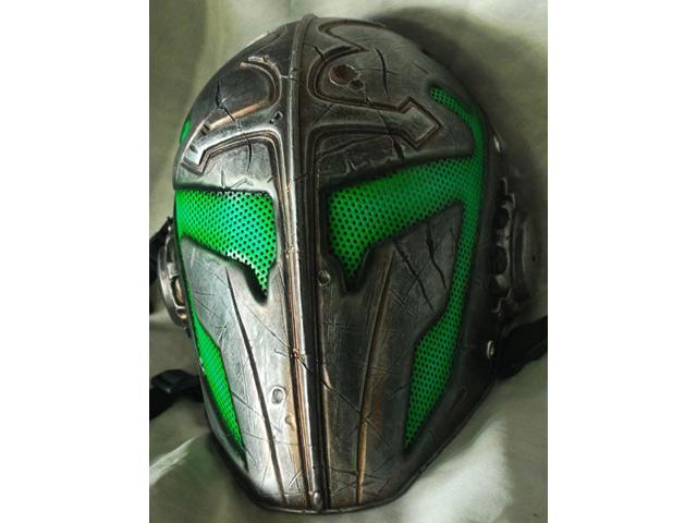 Evike.com R-Custom Fiberglass Wire Mesh Templar Mask - Green