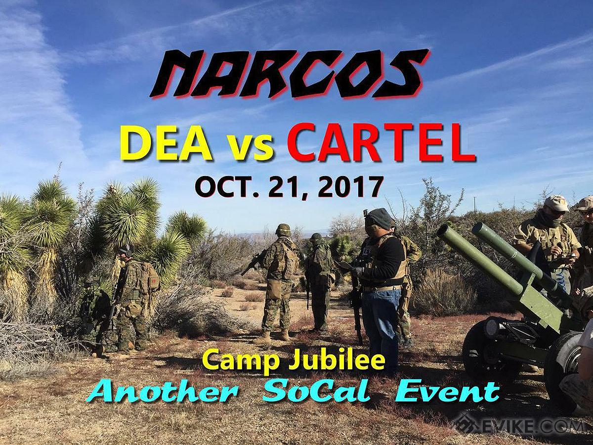 Operation NARCOS 2017 (October 21st, 2017, Camp Jubilee , Phelan , California) (Force: DEA)