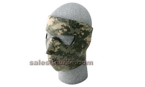 z Bobster / Zan Headgear Neoprene Face Mask-Digital ACU