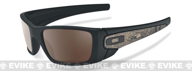 Oakley SI American Heritage Crankshaft - Matte Black with Warm Grey Lense