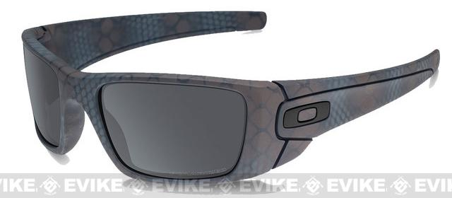 Oakley SI x Daniel Defense Fuel Cell - Ultra Blend Black Cerakote w/ Black Iridium Lenses