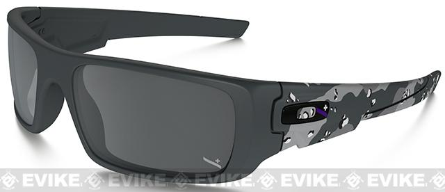 z Oakley Infinite Hero Fuel Cell - Matte Carbon Camo with Black Iridium Lenses