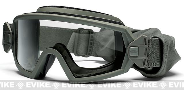 z Smith Optics Elite Outside the Wire Goggles (Asian Fit) - Foliage Green