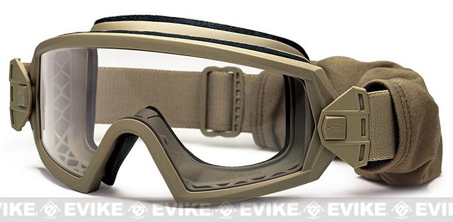 z Smith Optics Elite Outside the Wire Goggles (Asian Fit) - Tan 499