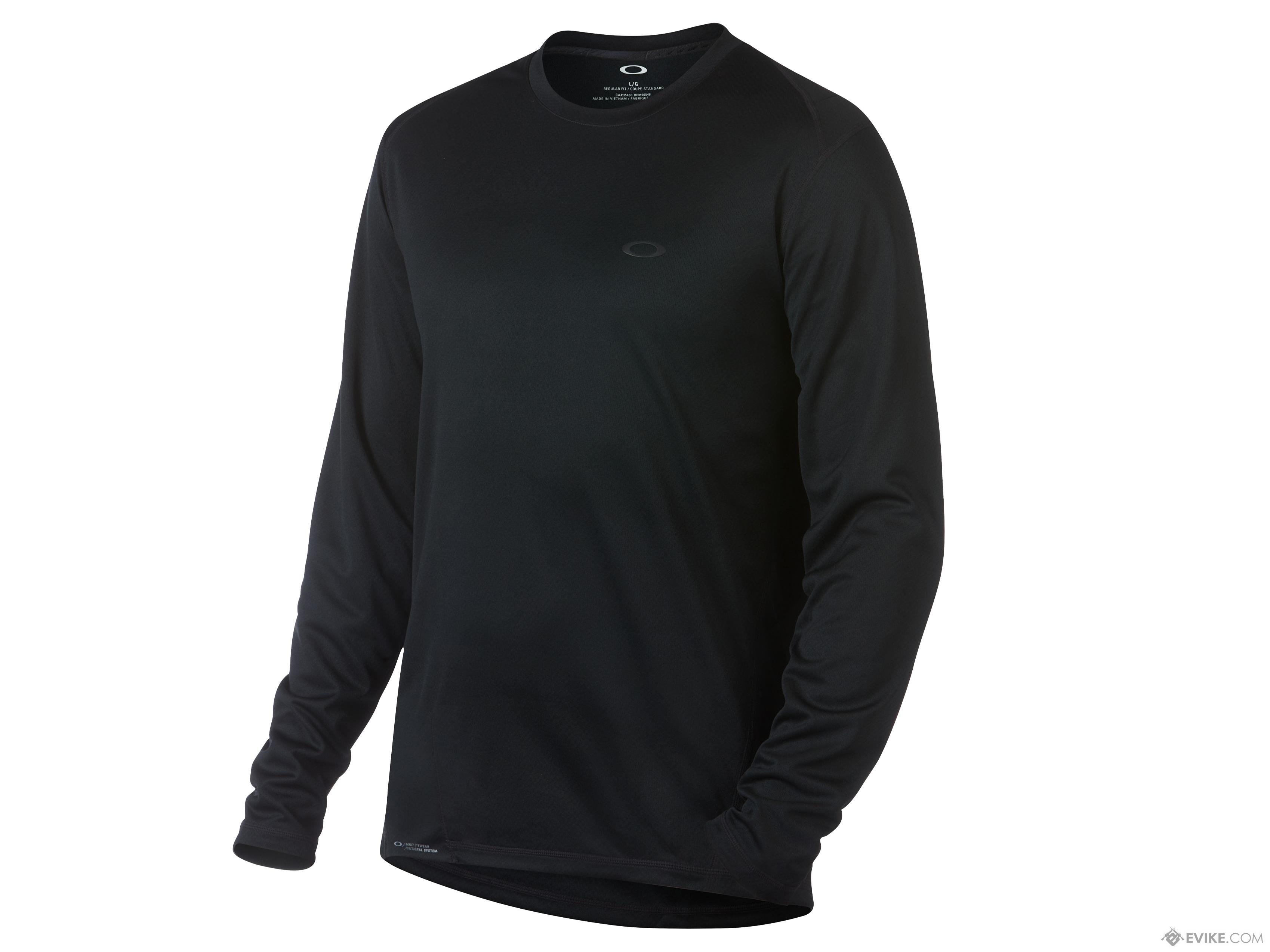 Oakley Base LS Top (Size: Small / Blackout)