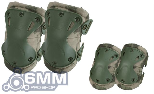 6mmProShop Tactical Knee & Elbow Pad Set (Color: Arid Foliage)