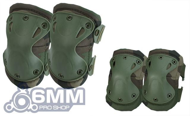 6mmProShop Tactical Knee & Elbow Pad Set (Color: Woodland)