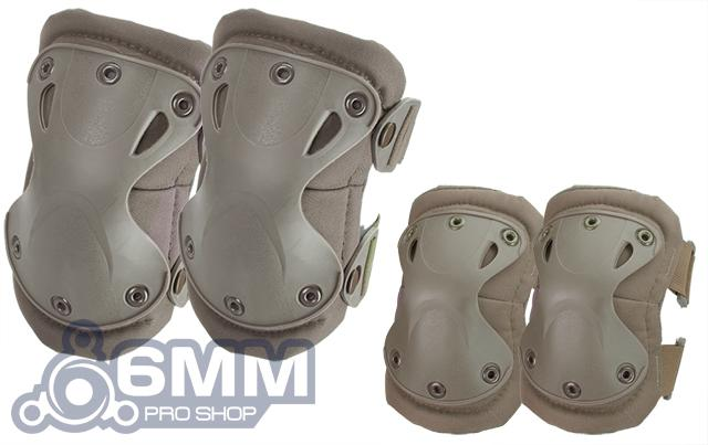 6mmProShop Tactical Knee & Elbow Pad Set (Color: Tan)