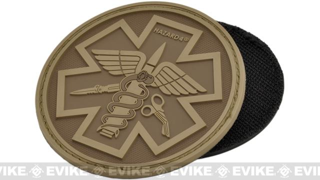 Hazard 4 PVC Paramedic Patch (Color: Coyote)