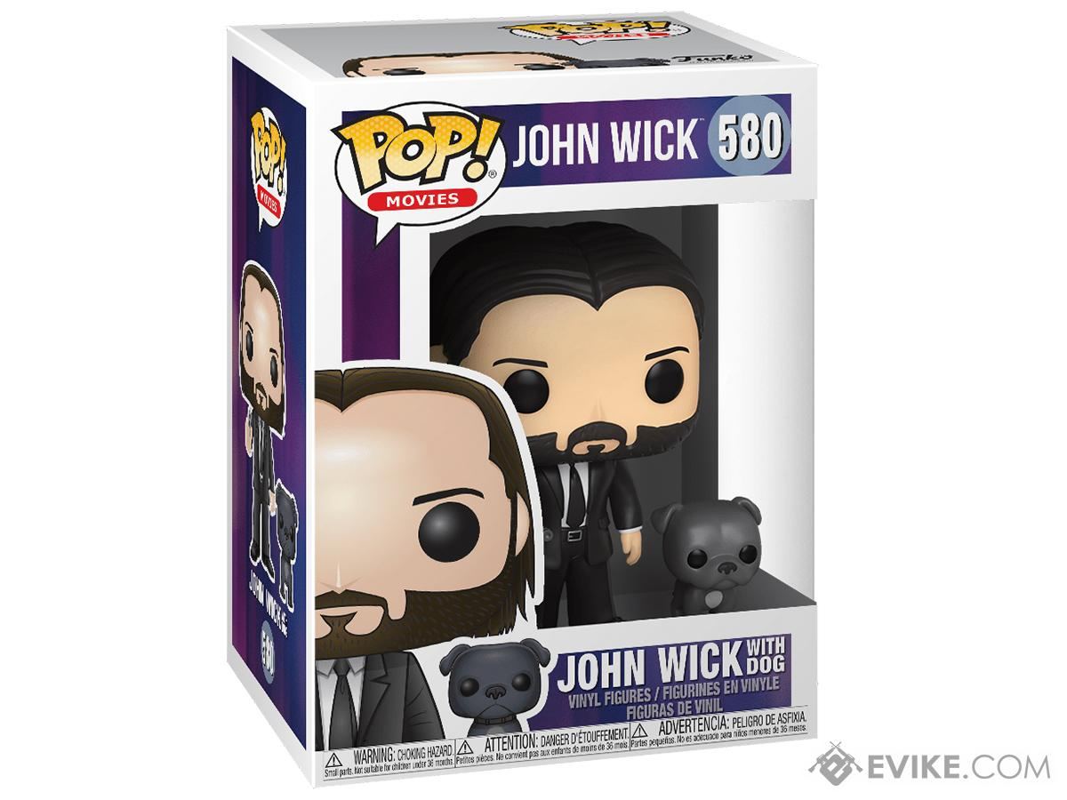 Funko POP! Movies John Wick w/ Dog Vinyl Figure