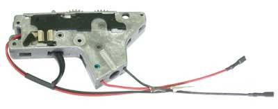 ICS M4 Complete Lower Gear Box w/ Wiring, Gears and Trigger Assembly (Front Wiring)