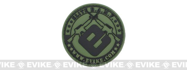 Official Licensed Evike.com Elite B.A.M.F. PVC Hook and Loop Patch - Type A