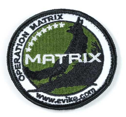 z Evike.com Operation Matrix 2.5 Round Hook and Loop Patch