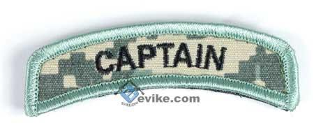 Matrix Captain Tab Hook and Loop Backed Morale Patch (ACU)