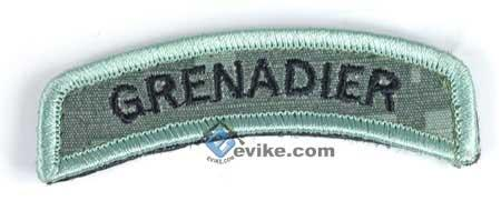 z Matrix Grenadier Tab Hook Backed Morale Patch (ACU)