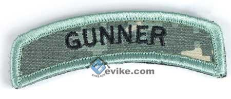 Matrix Gunner Tab Hook Backed Morale Patch (ACU)