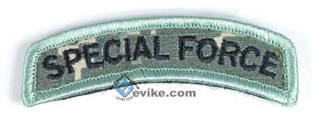 Matrix Special Force Tab Hook and Loop Backed Morale Patch (ACU)