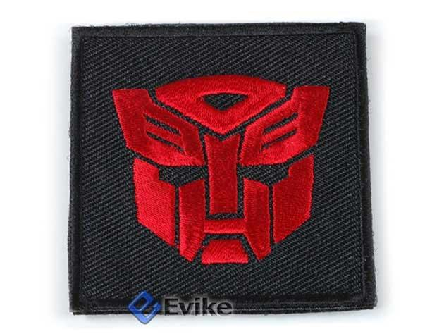 Tactical IFF (Identify Friendly Forces) Transformer 50mm Hook and Loop  Patch (Red)