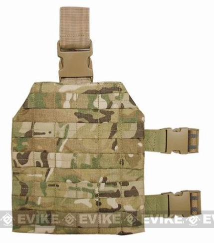 Crye Precision Licensed Military Style Universal Tactical Drop Leg Platform - Multicam