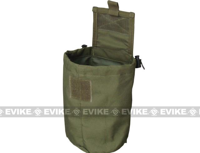 Black Owl Gear / Phantom Gear MOLLE Roll-Up Utility / Dump Pouch (Color: Woodland)