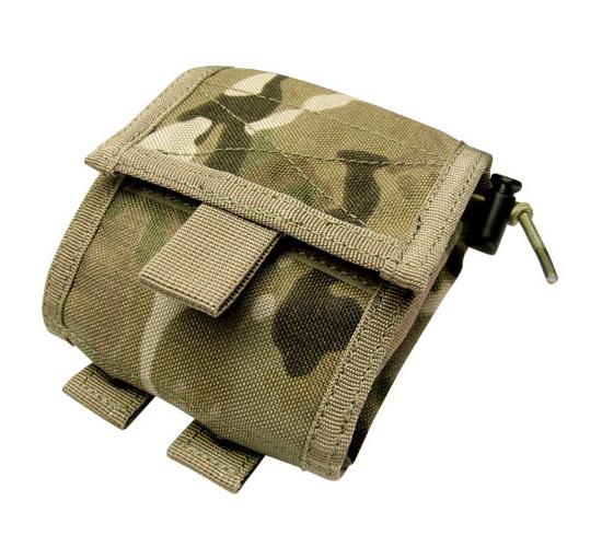 Black Owl Gear / Phantom Gear MOLLE Roll-Up Utility / Dump Pouch (Color: Multicam)