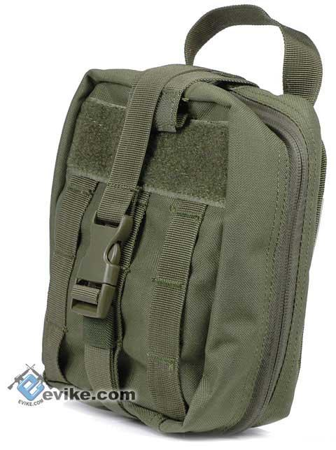 Condor MOLLE Ready Rip-Away EMT pouch - OD Green