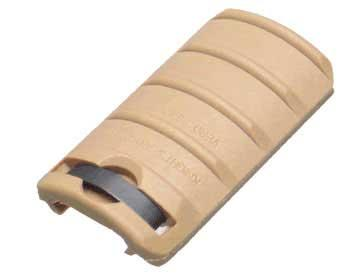 Matrix Special Force Rail Covers - 4 Ribs (Color: Desert Tan)