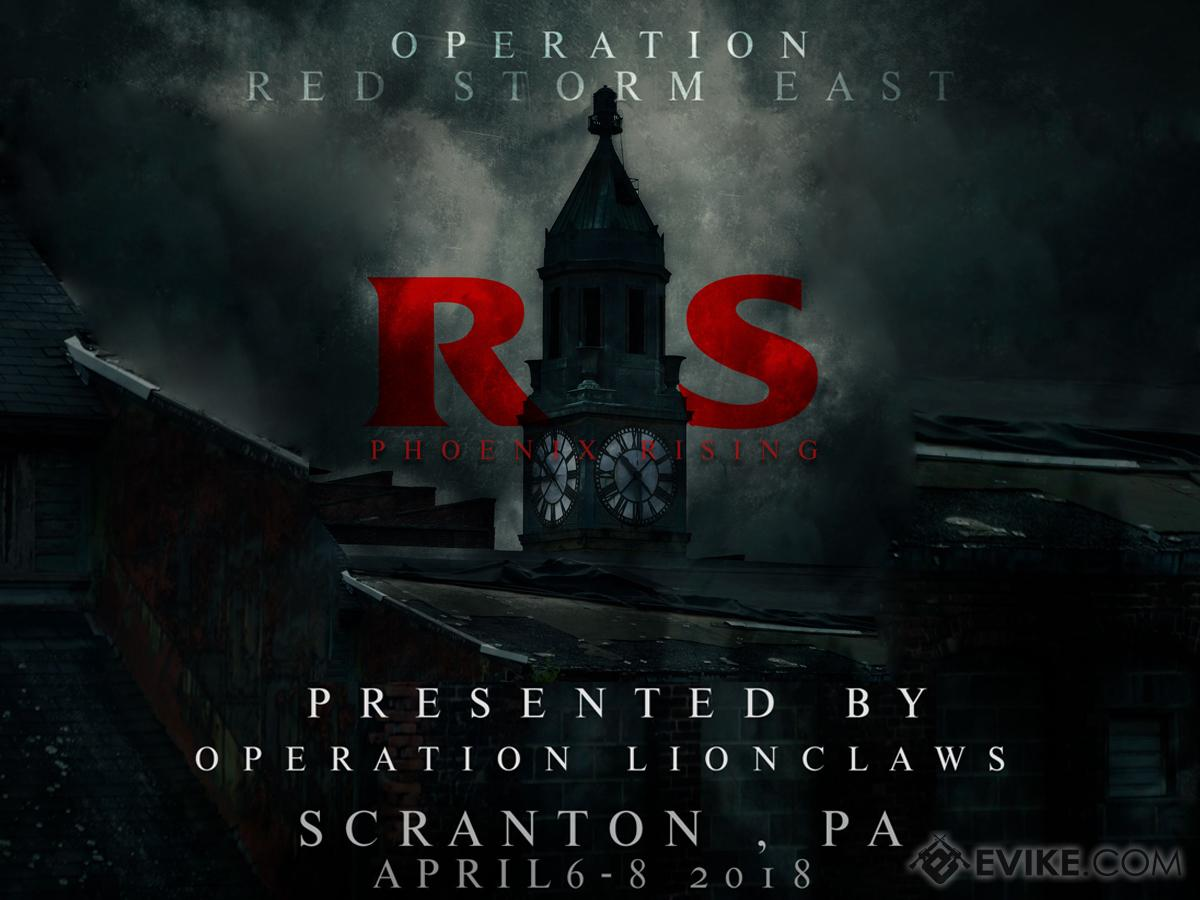 Operation Red Storm East 2018 (April 6th - 8th, 2018 , Scranton Lace Factory , Scranton, Pennsylvania) (Force: Horde)