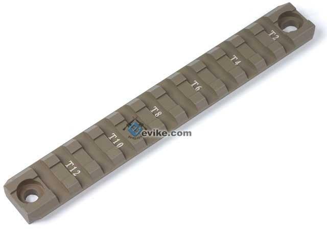 G36 / G36C Hand guard Picatinny / Weaver Full Size Rail (Dark Earth / One Long)