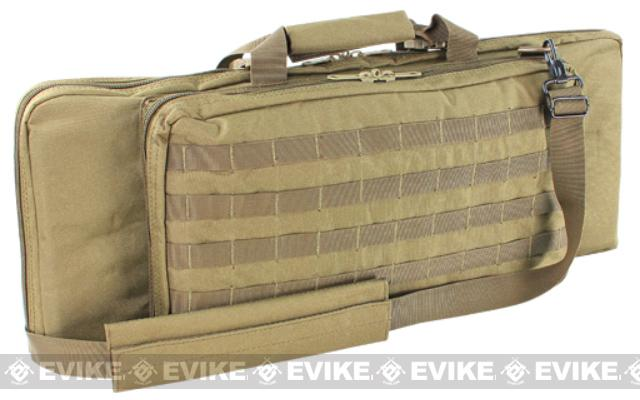 Condor 28 Tactical Padded Double Rifle Bag (Color: Tan)