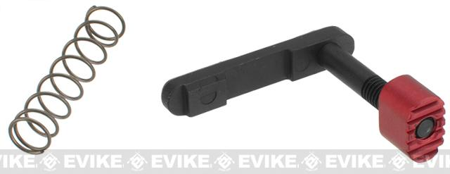 Strike Industries (EMC) Enhanced Magazine Catch for AR-15 Style Rifles - Red