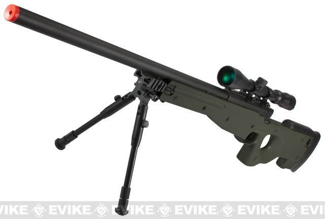 Shadow Op MB01 Type96 MK96 APS-2 Airsoft Bolt Action Sniper Rifle (Color: OD Green - Package A)