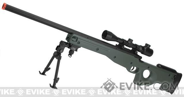 AGM Type 96 Airsoft Bolt Action Sniper Rifle (Color: OD Green - Package A)