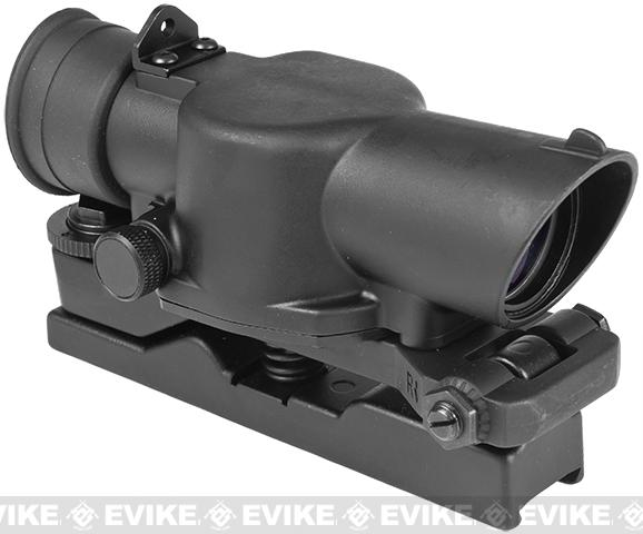 SUSAT L85 Type Rifle Scope w/ QD Weaver Mount for L85 Rail by Matrix